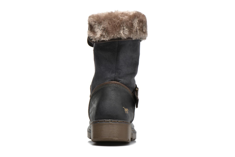 Bottines et boots Mustang shoes Bridget Gris vue droite