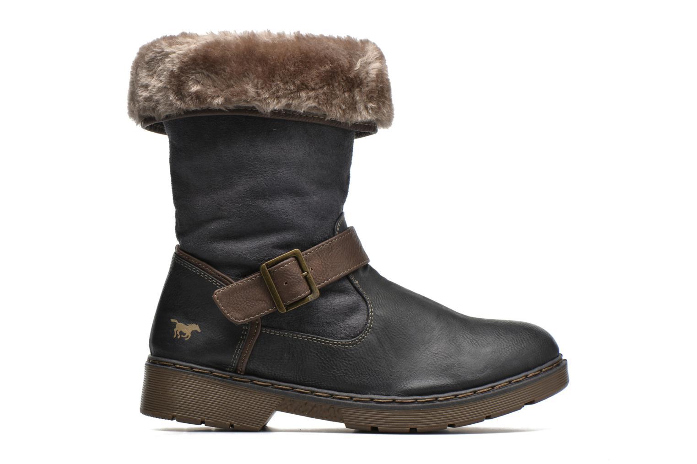 Bottines et boots Mustang shoes Bridget Gris vue derrière