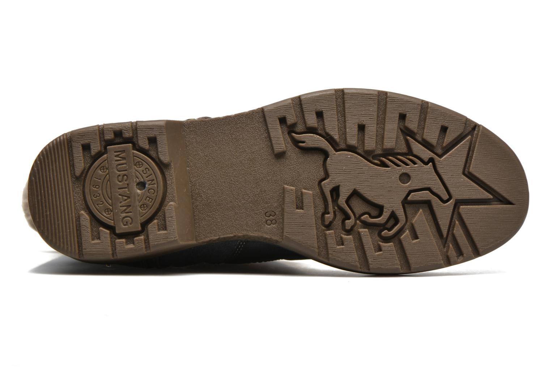 Bottines et boots Mustang shoes Bridget Gris vue haut