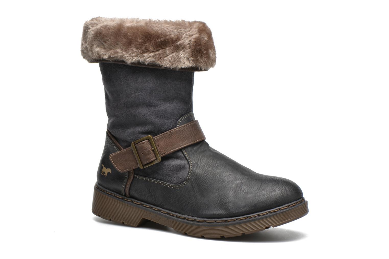 Bottines et boots Mustang shoes Bridget Gris vue détail/paire