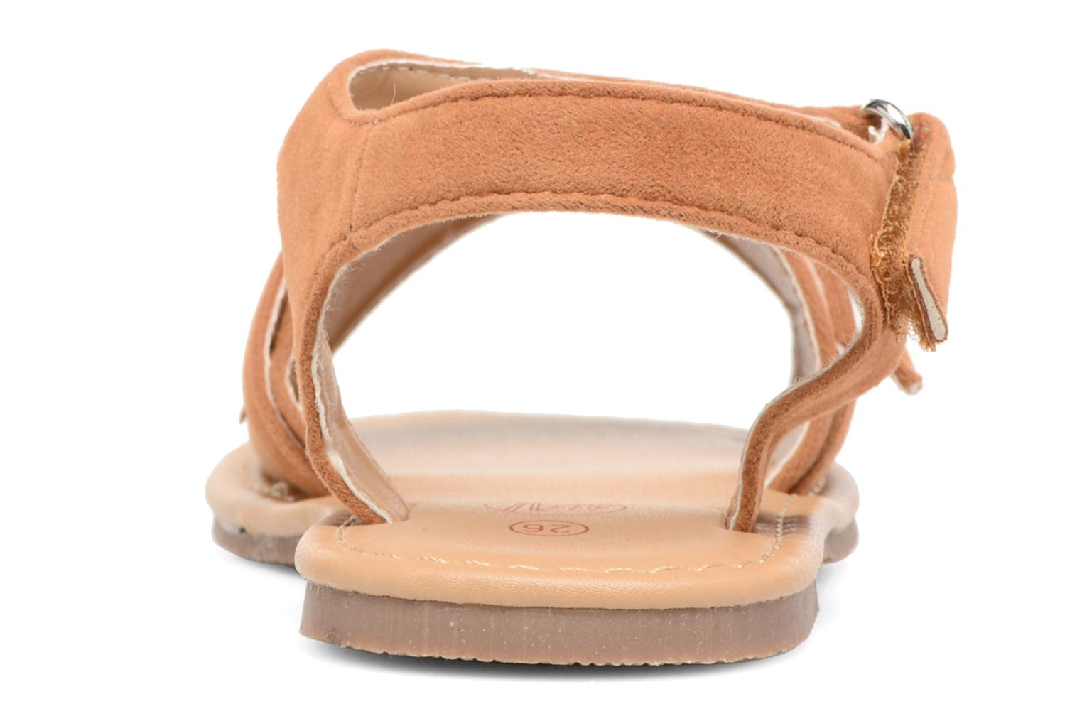 Sandals NA! Rubis Brown view from the right