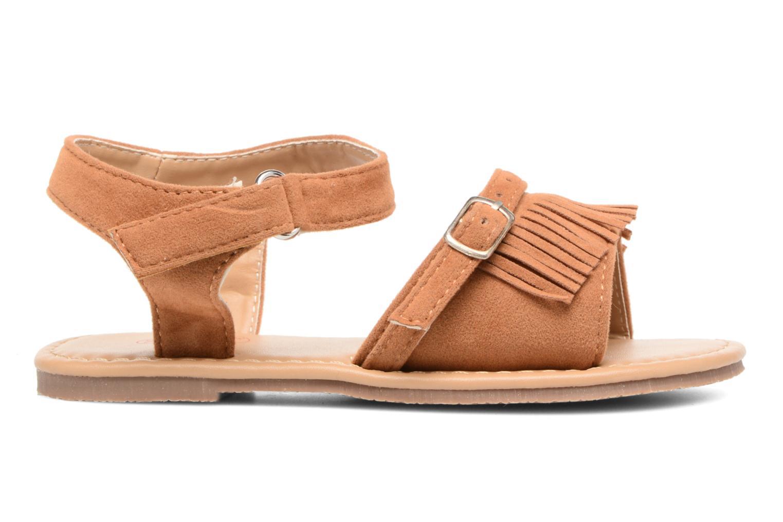 Sandales et nu-pieds NA! Rubis Marron vue derrière