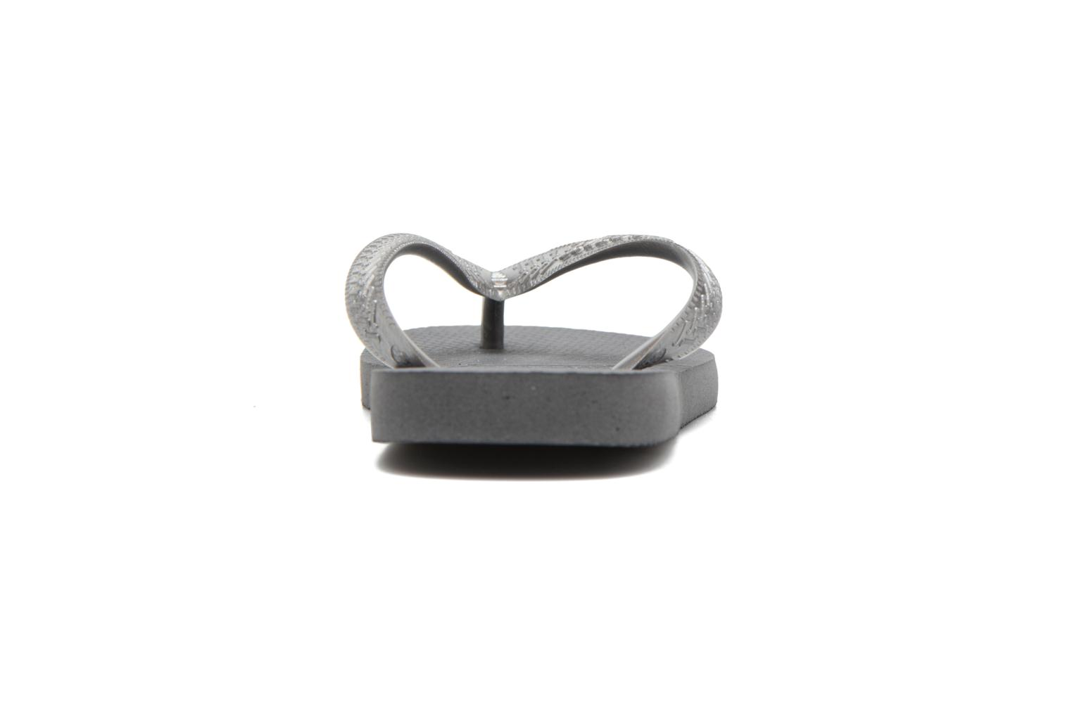 Flip flops Havaianas Top Tiras Grey view from the right