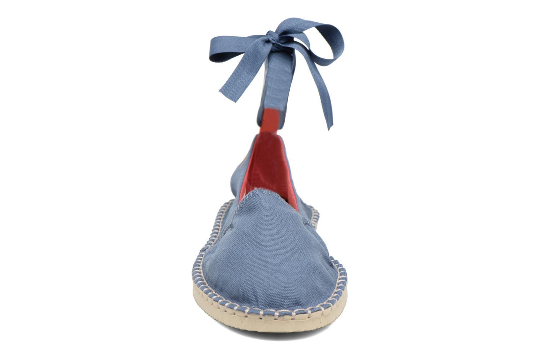 Espadrilles Havaianas Origine Slim Bleu vue portées chaussures