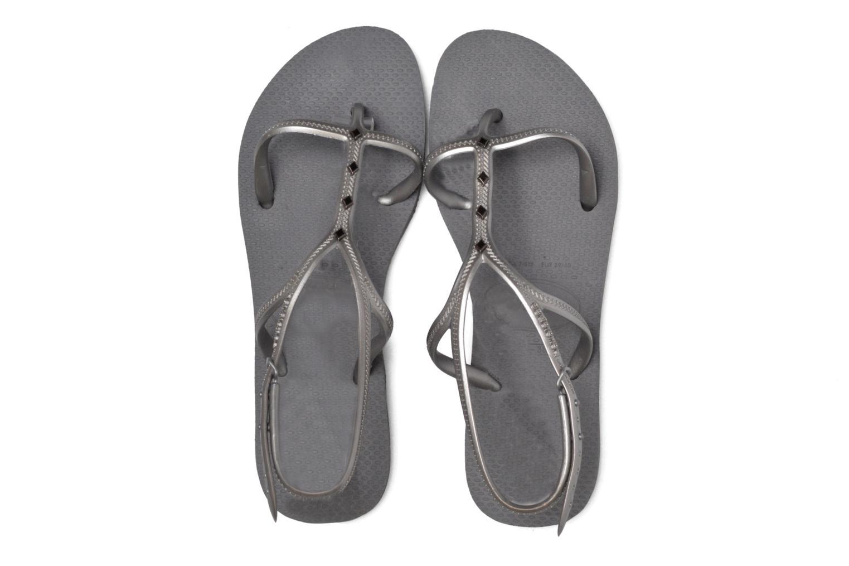 Sandals Havaianas Allure Maxi Grey 3/4 view