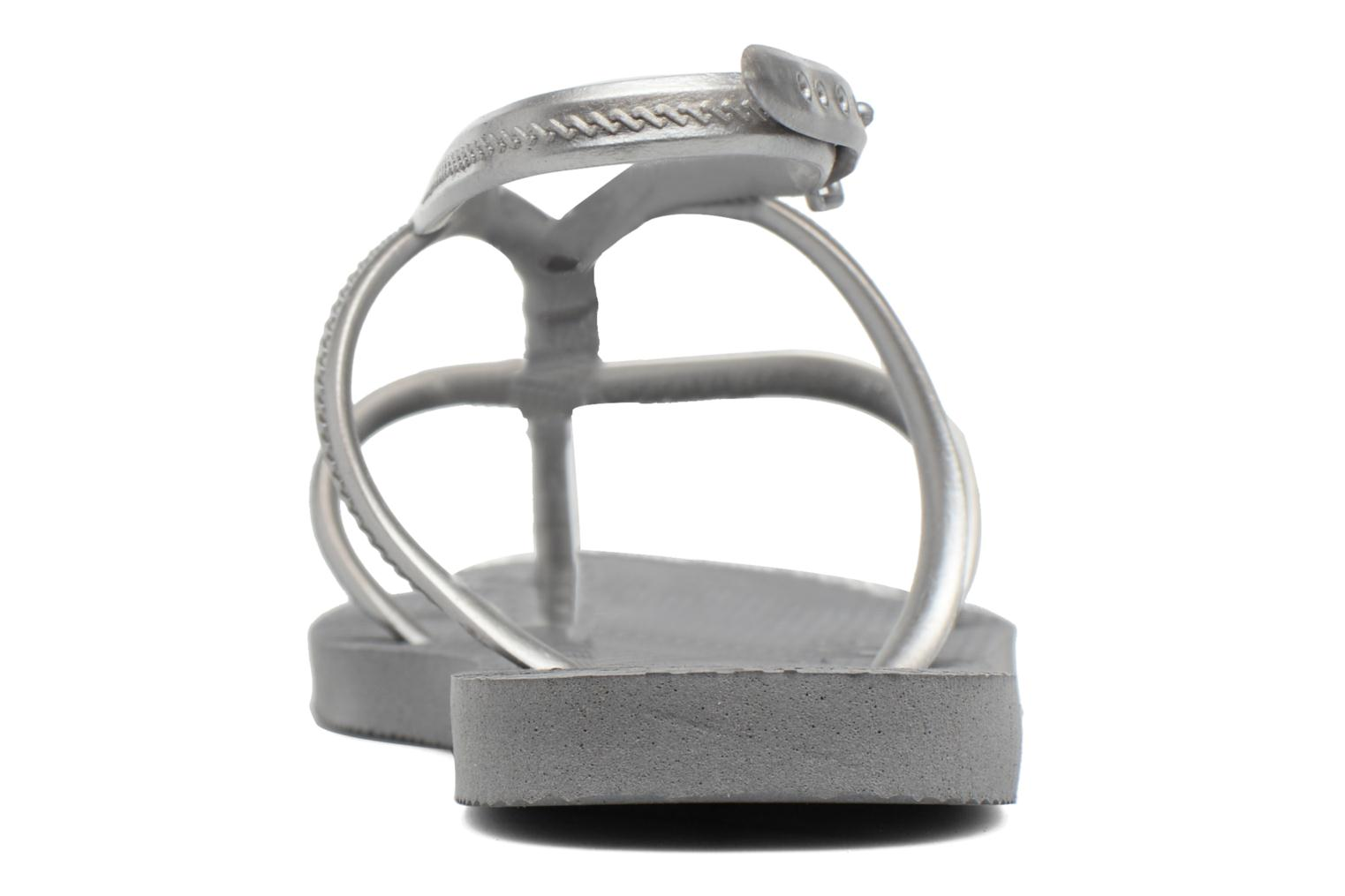 Sandals Havaianas Allure Maxi Grey view from the right