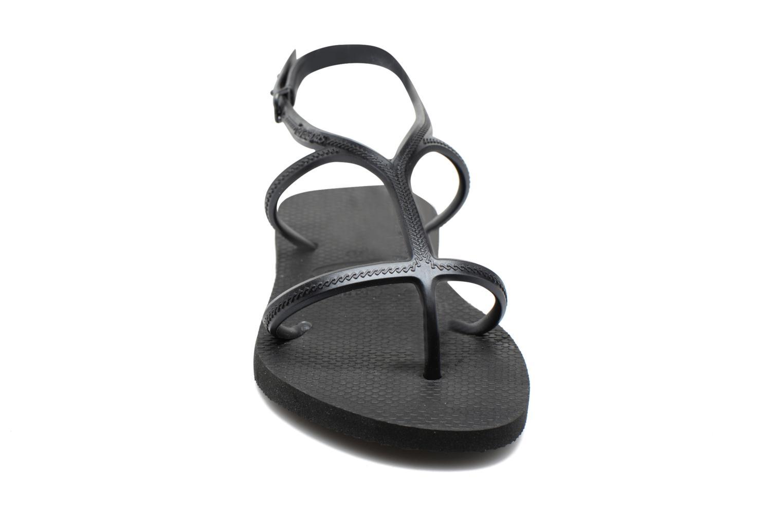 Flip flops Havaianas Allure Black model view