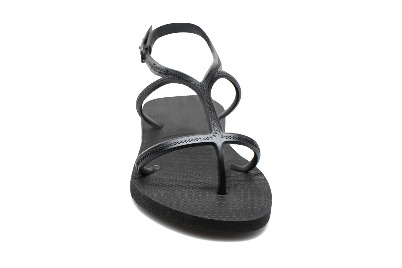 Sandalias Havaianas Allure Negro vista del modelo