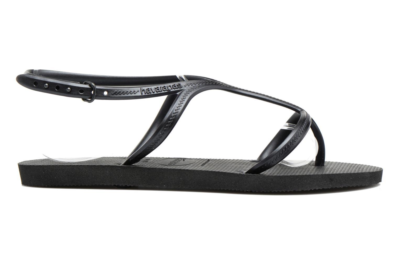Sandals Havaianas Allure Black back view