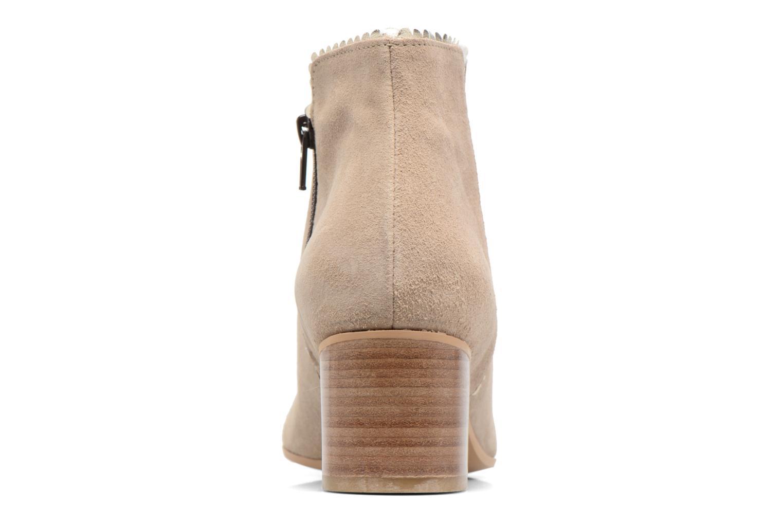 Bottines et boots Georgia Rose Celijo Beige vue droite