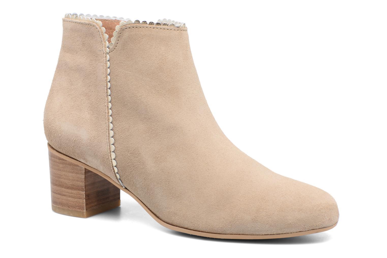 Bottines et boots Georgia Rose Celijo Beige vue détail/paire