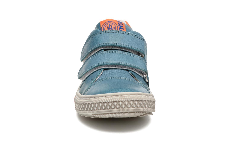 Baskets Romagnoli Claudio Bleu vue portées chaussures