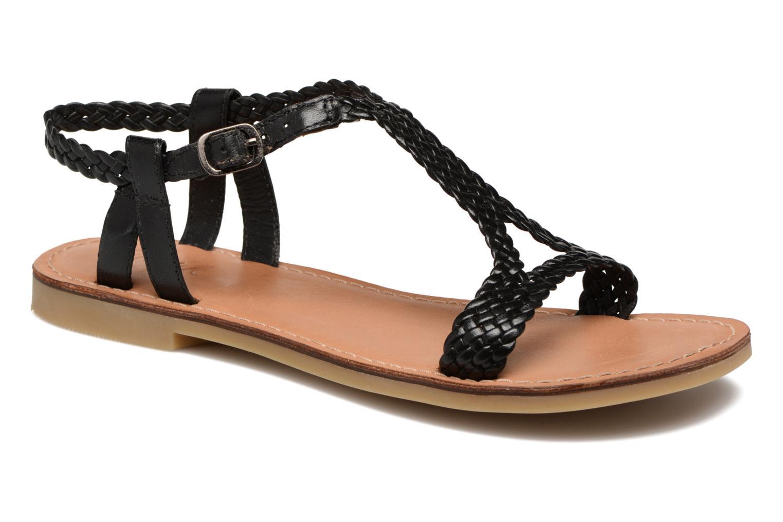 Sandals Shwik Lazar Mimi Black detailed view/ Pair view