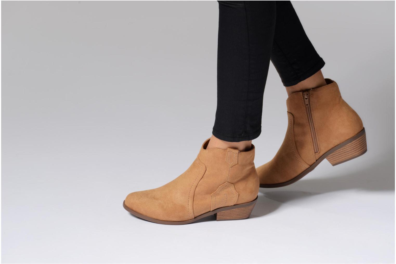 Bottines et boots Dorothy Perkins Madds Bleu vue bas / vue portée sac