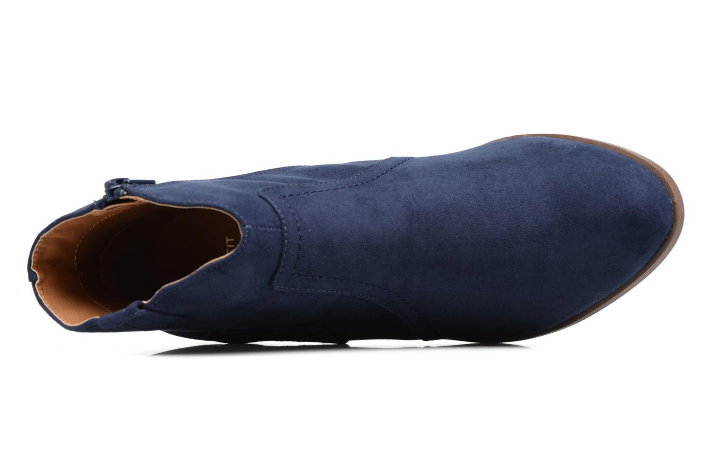 Bottines et boots Dorothy Perkins Madds Bleu vue gauche