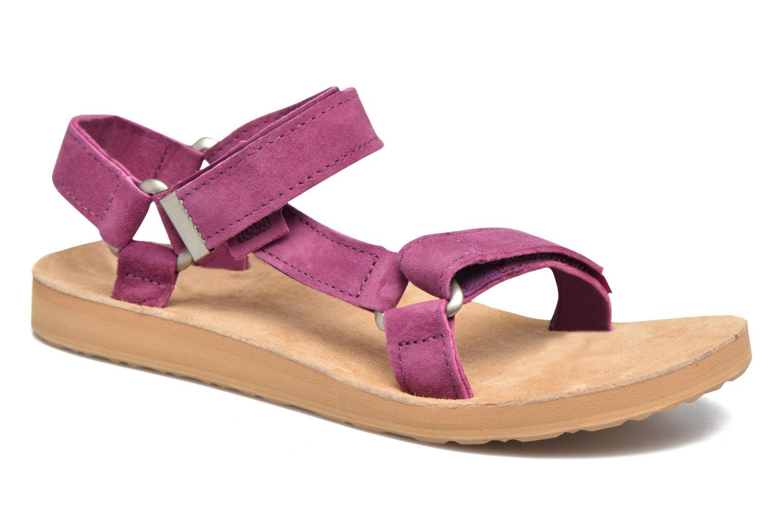 Sandales et nu-pieds Teva Original Universal Suede Violet vue détail/paire