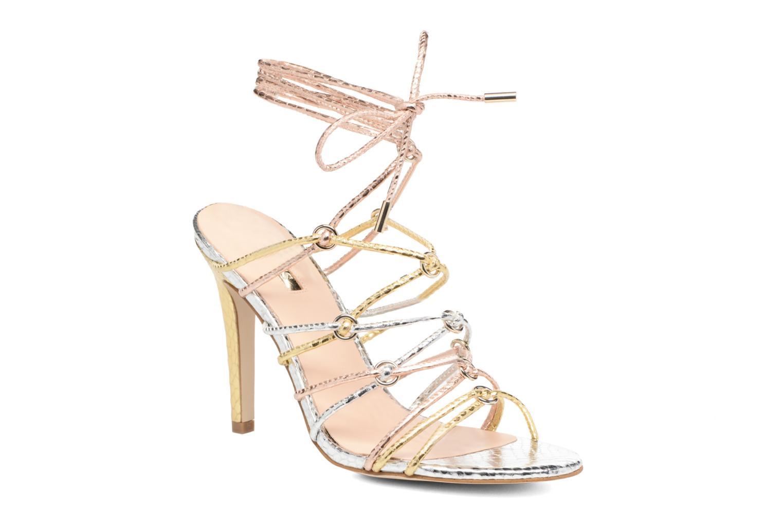 Sandales et nu-pieds Guess Aeyla Or et bronze vue détail/paire