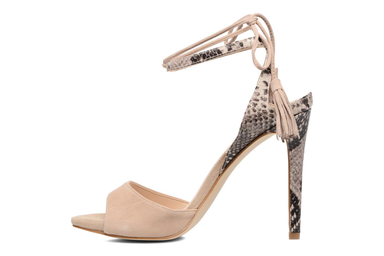 Sandali e scarpe aperte Guess Amee Beige immagine frontale