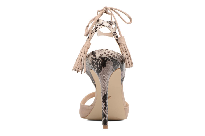 Sandali e scarpe aperte Guess Amee Beige immagine destra