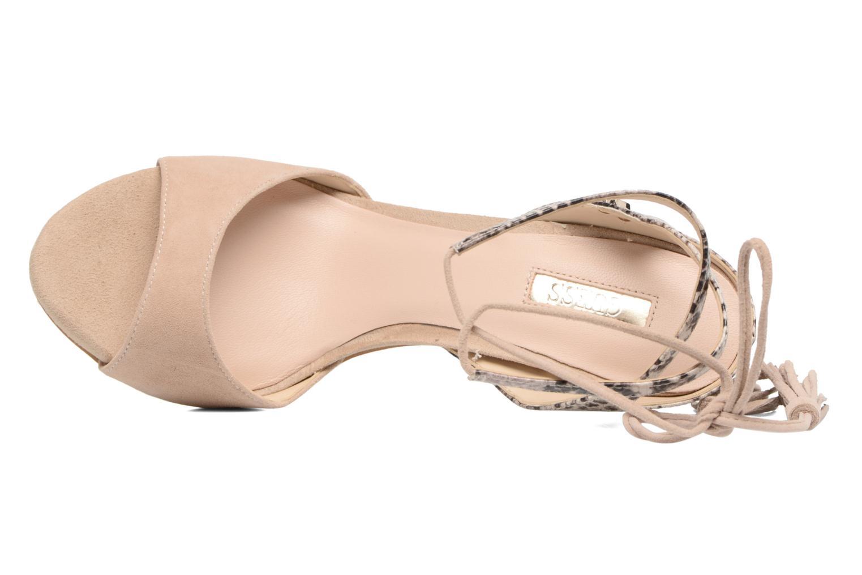 Sandali e scarpe aperte Guess Amee Beige immagine sinistra