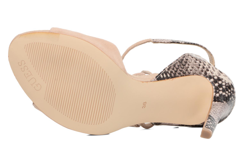 Sandali e scarpe aperte Guess Amee Beige immagine dall'alto