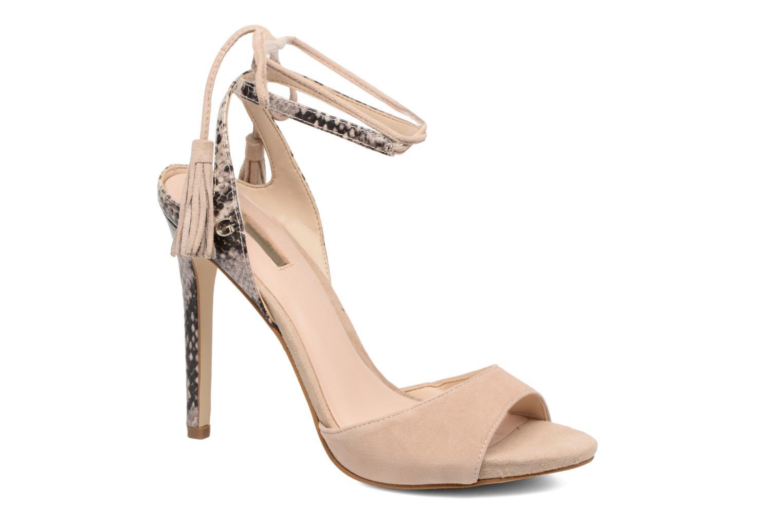 Zapatos promocionales Guess Amee (Beige) - Sandalias   Los últimos zapatos de descuento para hombres y mujeres
