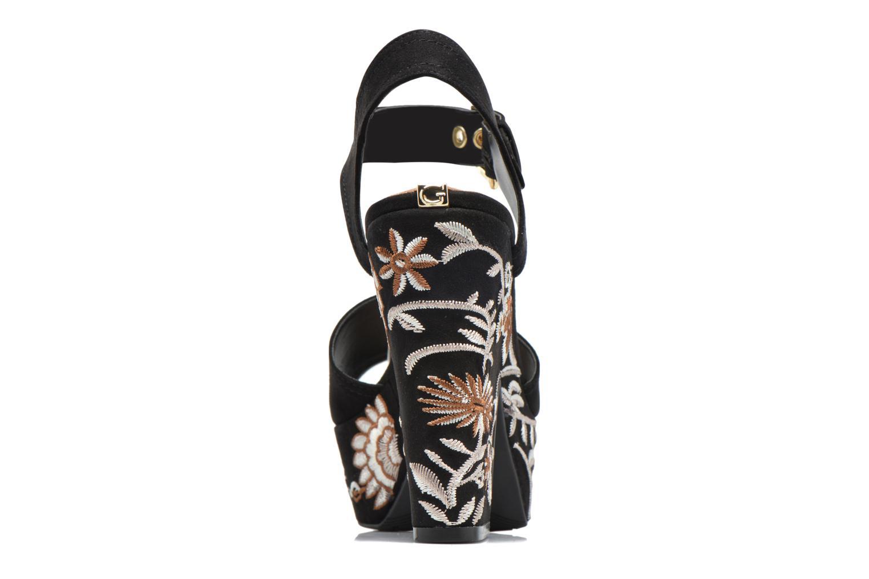 Sandali e scarpe aperte Guess Caralin2 Nero immagine destra