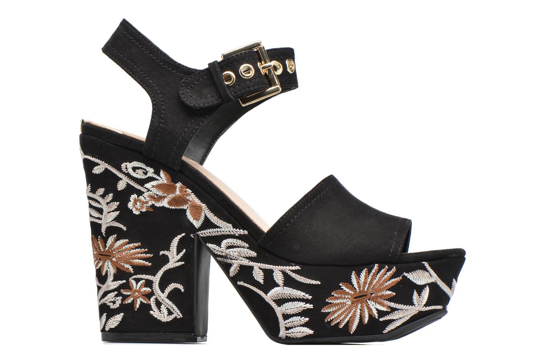 Sandali e scarpe aperte Guess Caralin2 Nero immagine posteriore