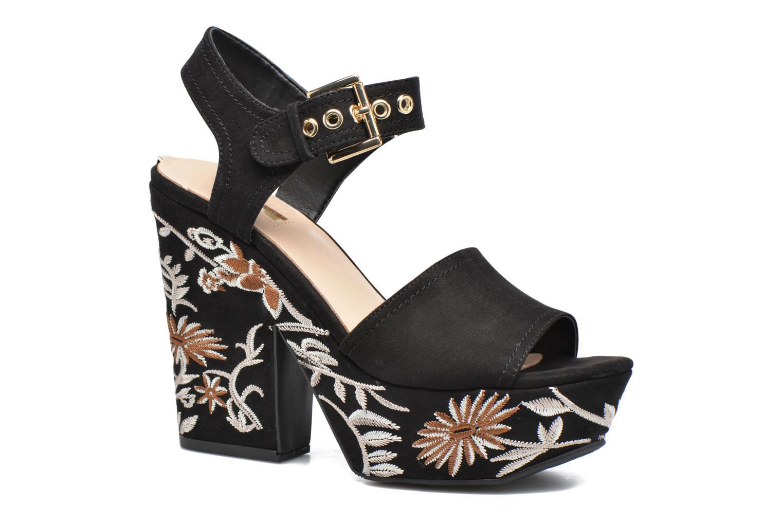 Zapatos promocionales Guess Caralin2 (Negro) - Sandalias   Descuento de la marca