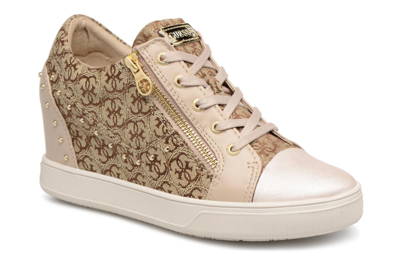Zapatos promocionales Guess Finna (Beige) - Deportivas   Venta de liquidación de temporada