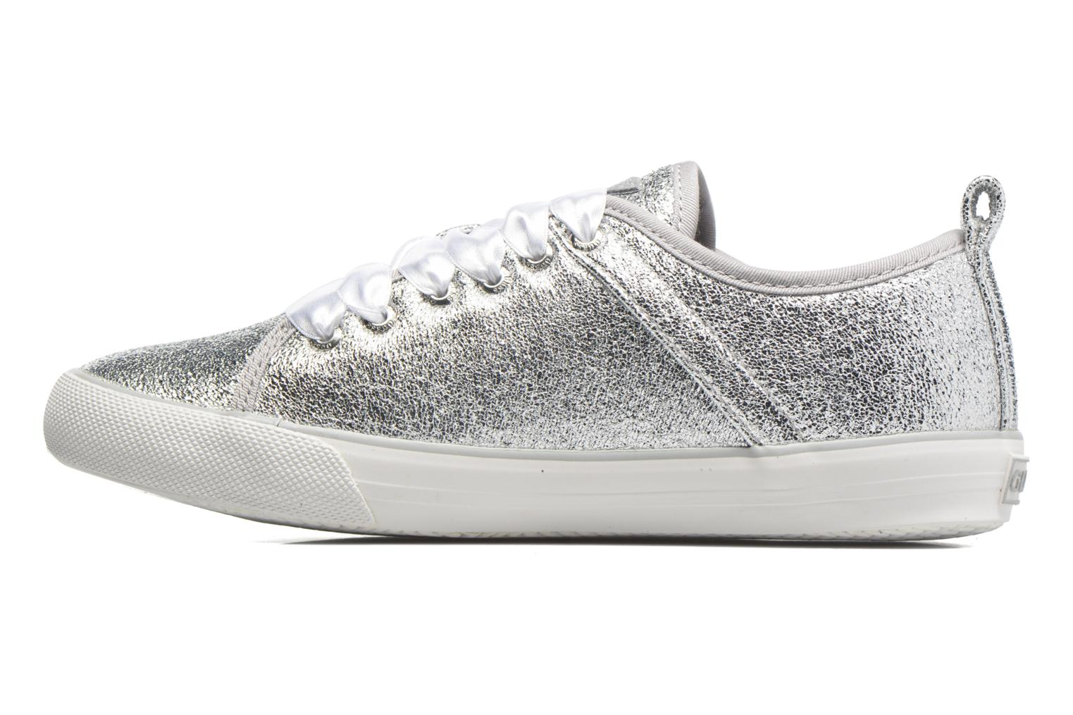 Sneakers Guess Jolie Argento immagine frontale