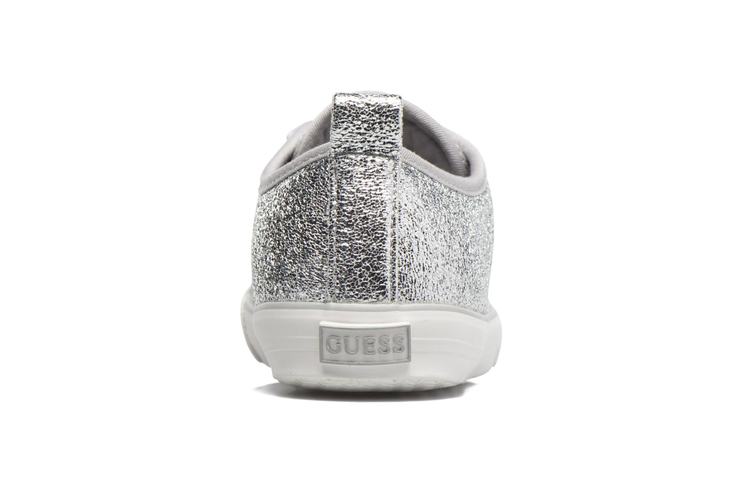 Sneakers Guess Jolie Argento immagine destra