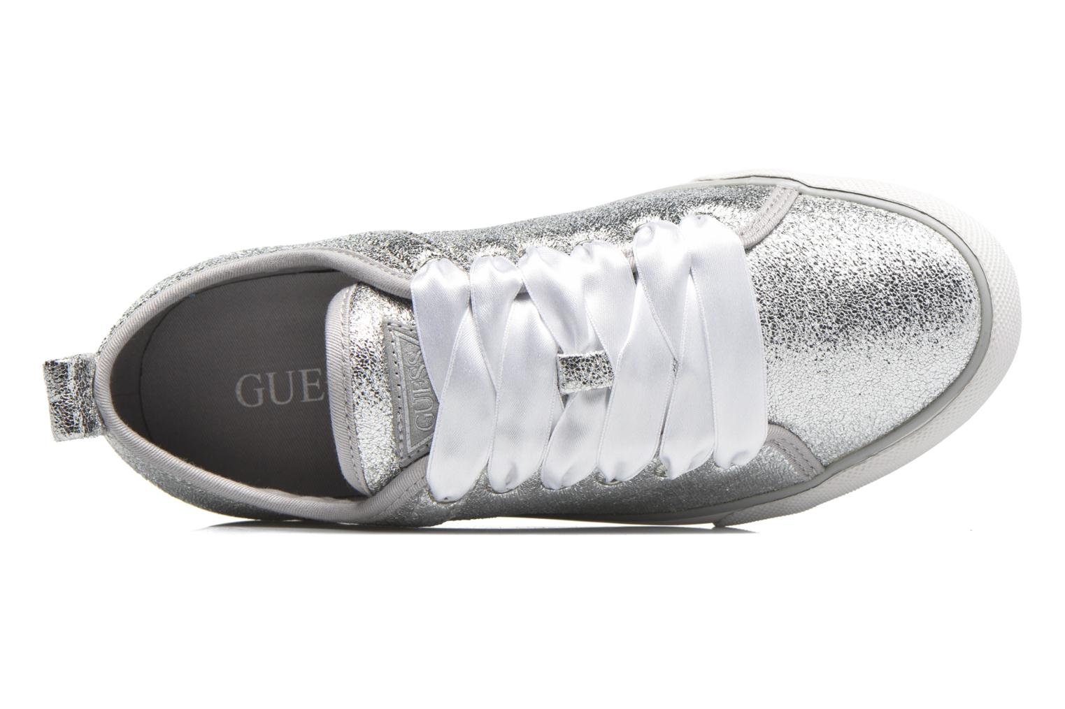 Sneakers Guess Jolie Argento immagine sinistra
