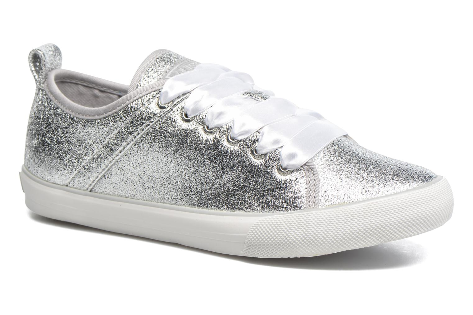 Trainers Guess Jolie Silver detailed view/ Pair view