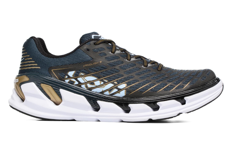 Chaussures de sport Hoka One One Vanquish 3 Bleu vue derrière