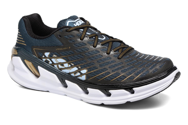 Chaussures de sport Hoka One One Vanquish 3 Bleu vue détail/paire