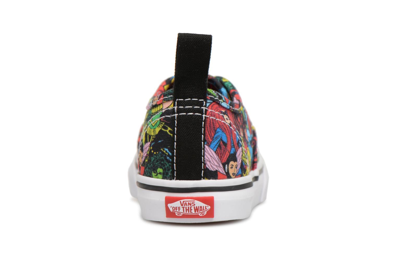 Baskets Vans Authentic Elastic Lace BB Multicolore vue droite