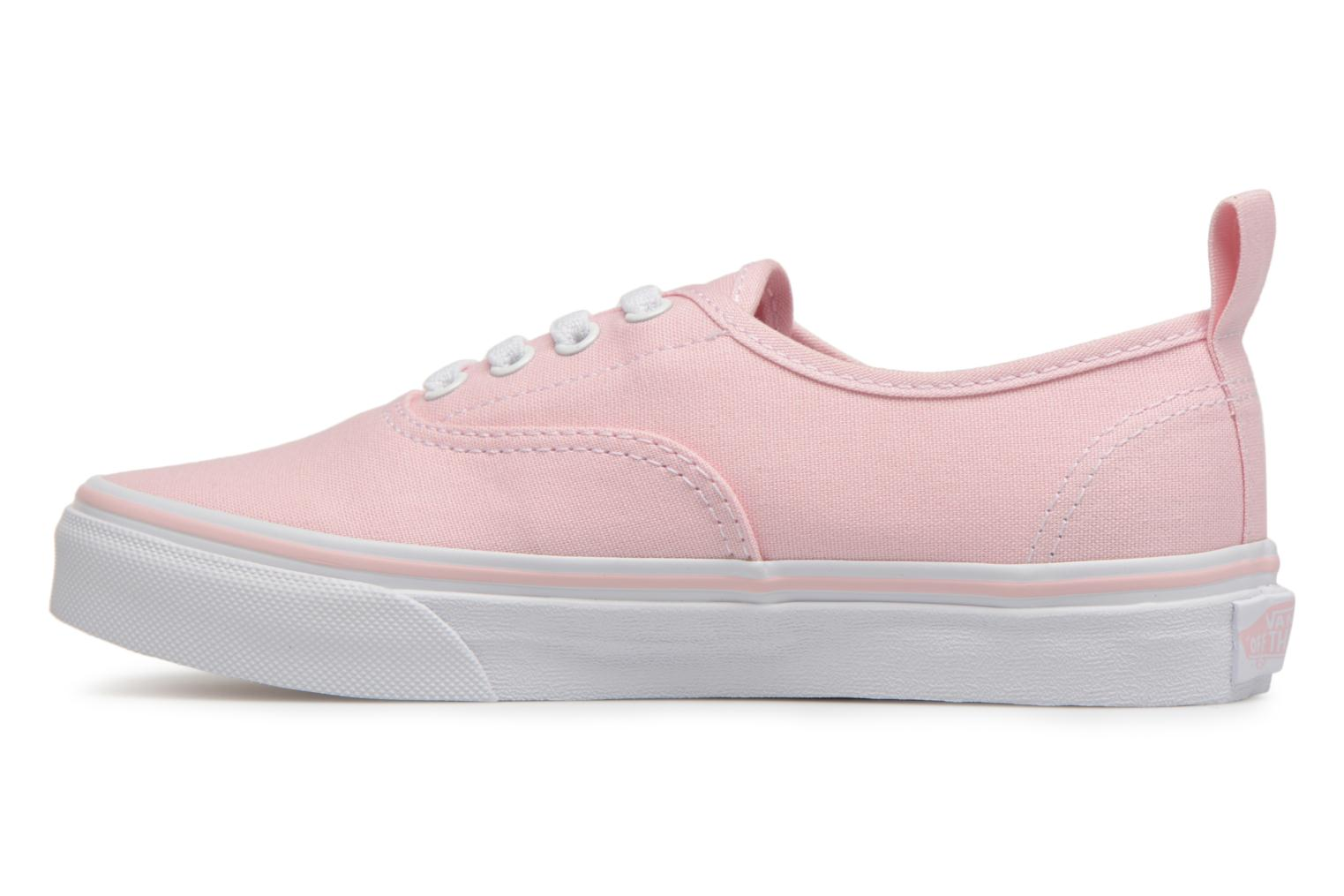 Deportivas Vans Authentic Elastic Lace Rosa vista de frente