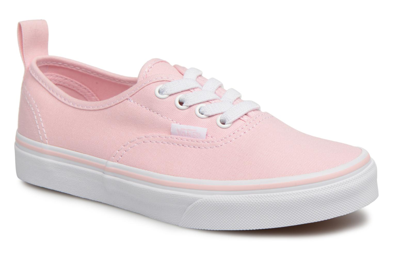Baskets Vans Authentic Elastic Lace Rose vue détail/paire