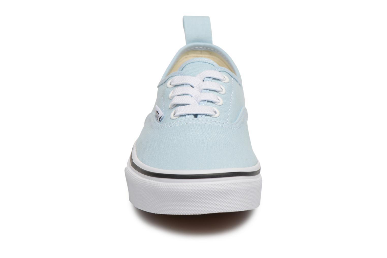 Trainers Vans Authentic Elastic Lace Blue model view