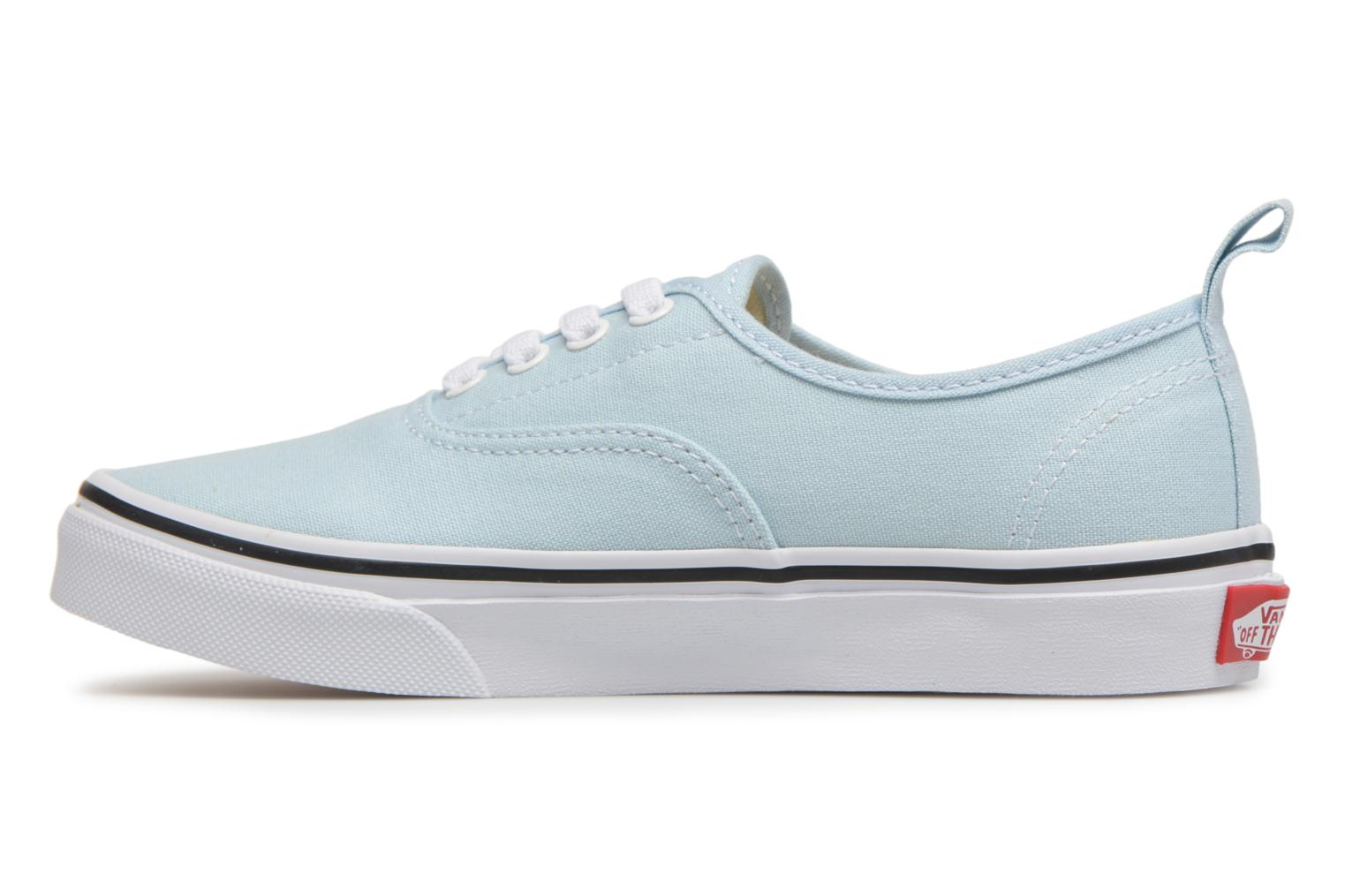 Baskets Vans Authentic Elastic Lace Bleu vue face