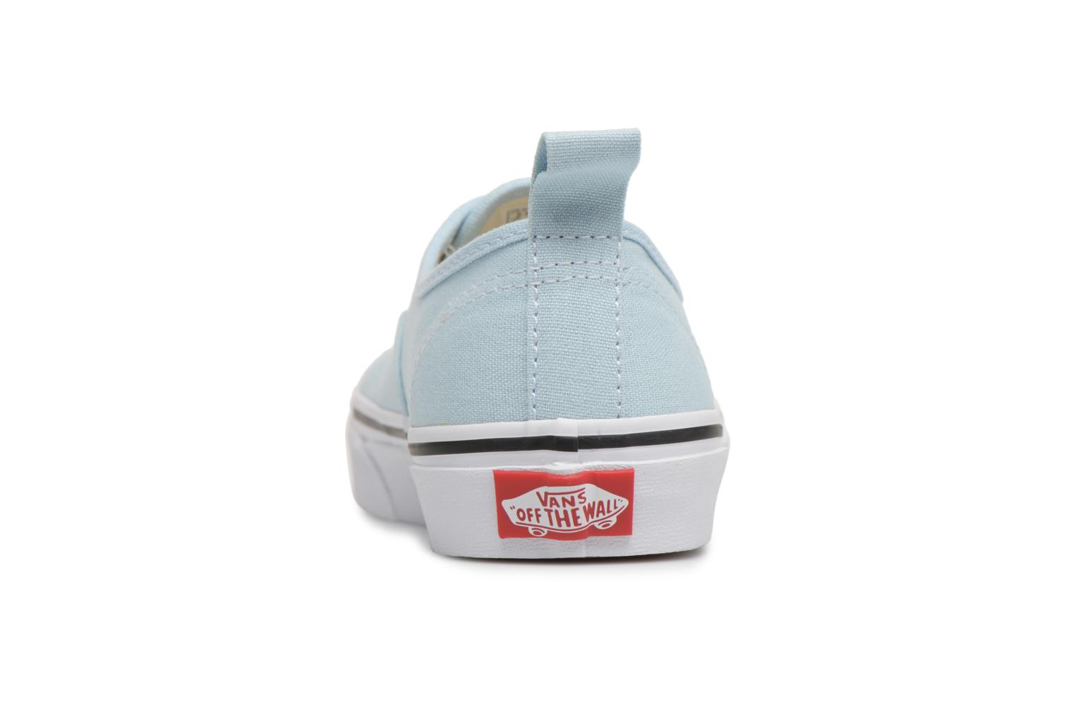 Deportivas Vans Authentic Elastic Lace Azul vista lateral derecha