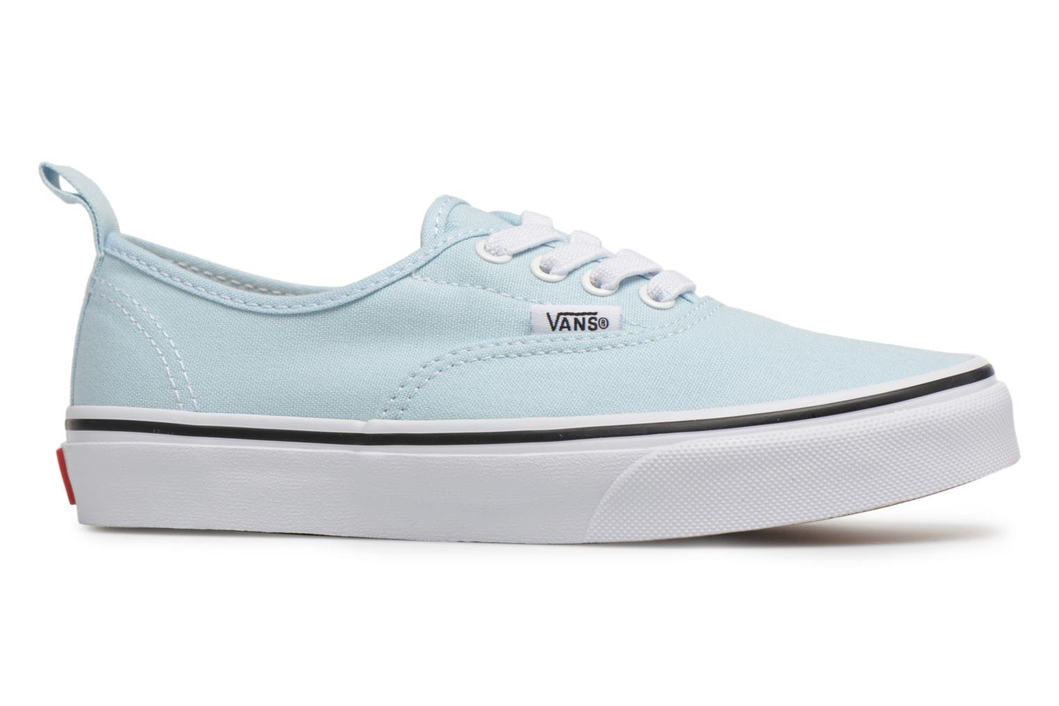Baskets Vans Authentic Elastic Lace Bleu vue derrière