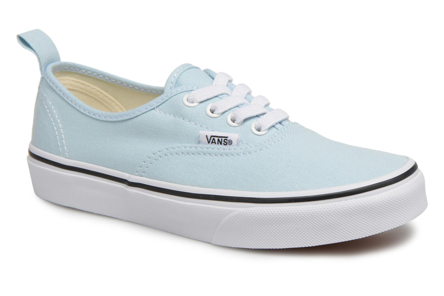 Baskets Vans Authentic Elastic Lace Bleu vue détail/paire