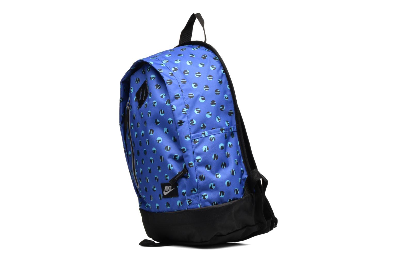 Rucksacks Nike Kid's Nike Cheyenne Print Backpack Blue model view