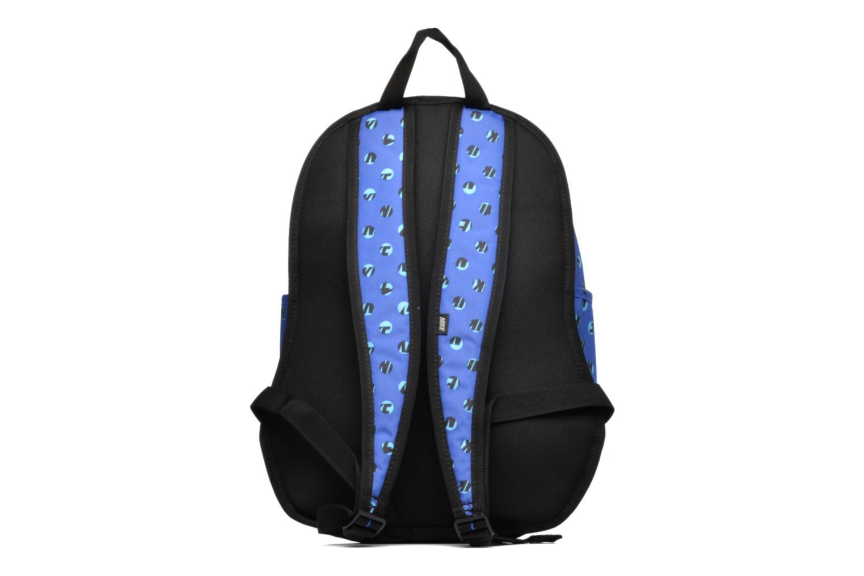 Rucksacks Nike Kid's Nike Cheyenne Print Backpack Blue front view