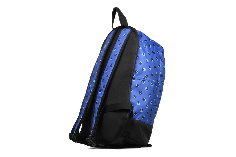 Rucksacks Nike Kid's Nike Cheyenne Print Backpack Blue view from the right