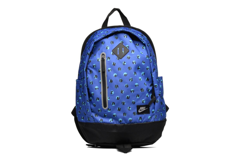 Rucksacks Nike Kid's Nike Cheyenne Print Backpack Blue detailed view/ Pair view