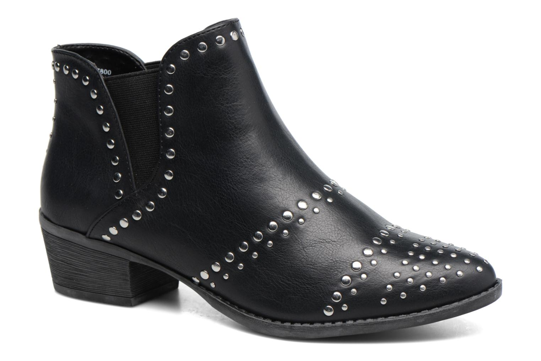 Zapatos de hombres y mujeres de moda casual Dorothy Perkins Avril Stud (Negro) - Botines  en Más cómodo