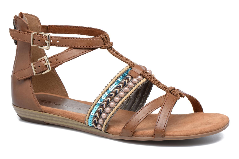 Sandales et nu-pieds Tamaris Episcia Marron vue détail/paire